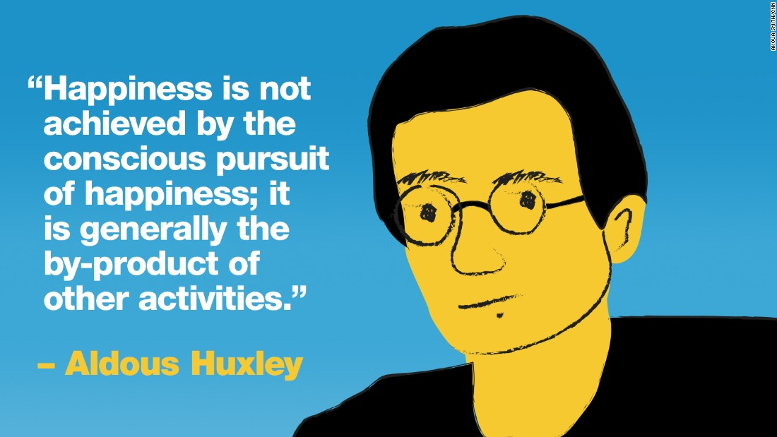 Project Happy quotes Huxley