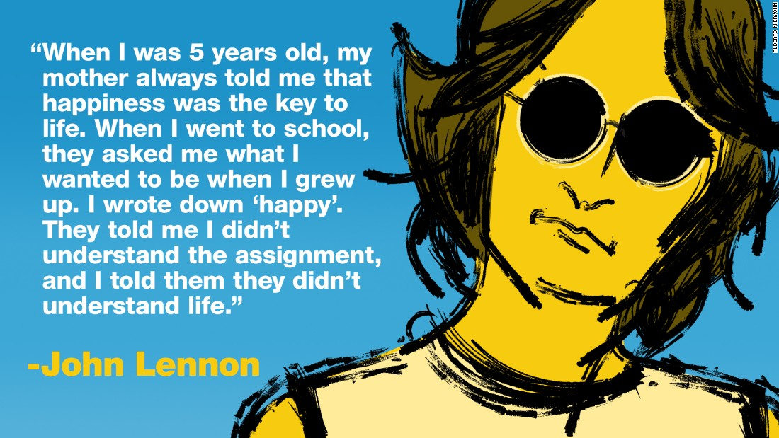 Project Happy quotes lennon