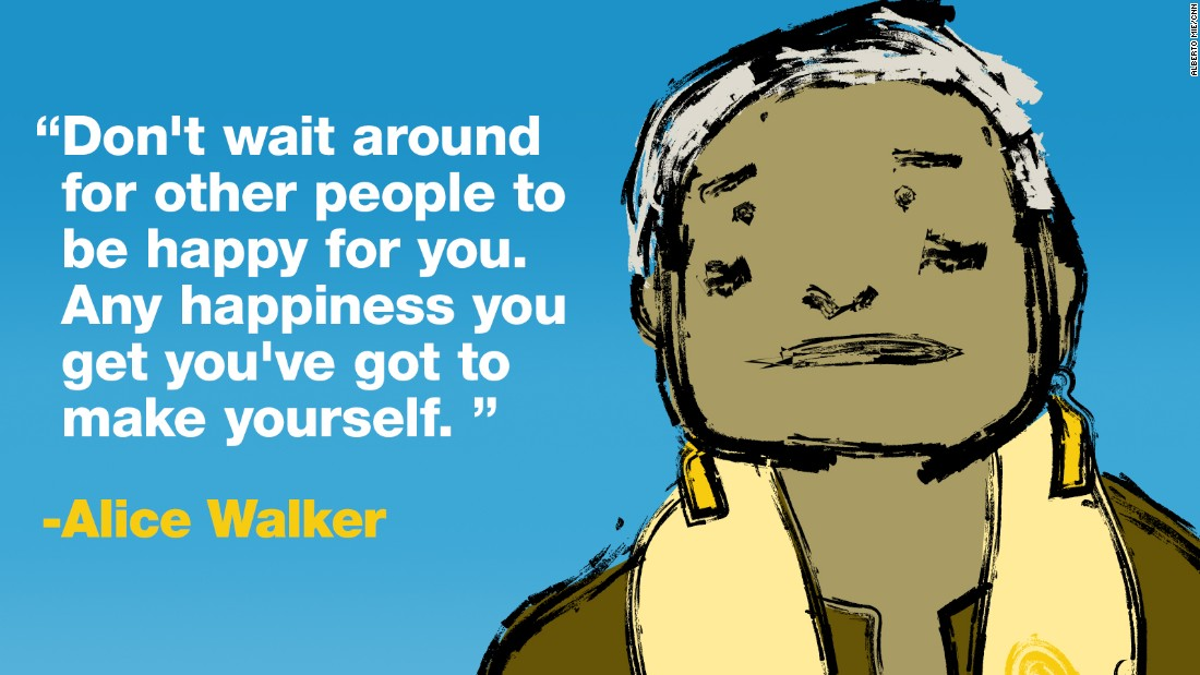 Project Happy quotes walker