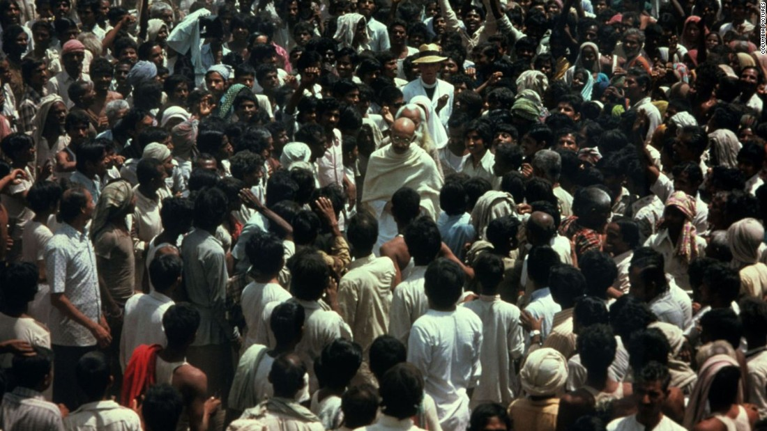 "<strong>""Gandhi"" (1982)</strong>: Sir Ben Kingsley won a best actor Academy Award for his portrayal of the leader of India's nonviolence movement. <strong>(Amazon Prime)  </strong>"