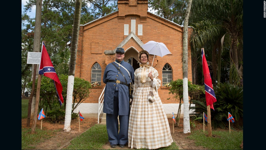 The city of Santa Barbara d'Oeste and its neighbor, Americana, 80 miles northwest of Sao Paulo, saw a great influx of American settlers after the U.S. Civil War ended in 1865. The local museum estimates between 1866 and 1890, anywhere from 3,000 to 10,000 Americans migrated to Brazil under a movement spurred by Confederate Col. William Hutchinson Norris.