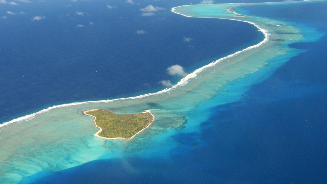 This island will vanish in 50 years* (*unless we act fast to stop climate change)