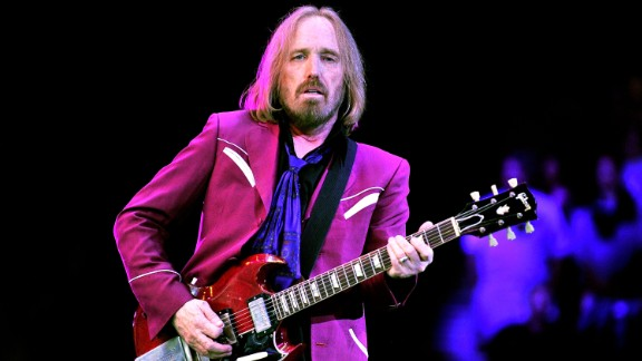 Tom Petty, 64, has been a mainstay of rock