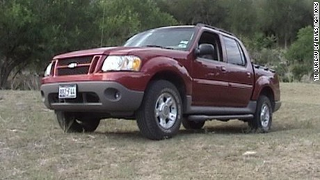 Wilson and Shook are believed to be in this 2004 Ford Explorer.