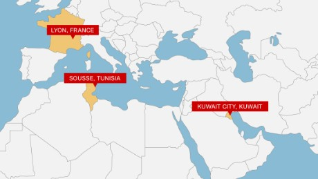 Tunisia hotel attack 38 killed tourists flee cnn a man caused an explosion at a chemical plant near lyon in southeastern france after having beheaded his boss and leaving the head hanging on a fence sciox Images