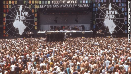 what year was live aid concert