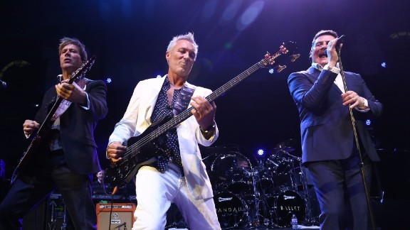 Steve Norman, Martin Kemp and Tony Hadley of Spandau Ballet -- performing in 2014 -- have recently played at music festivals. A feud over music rights sparked a rift that lasted many years before they reunited in 2009.