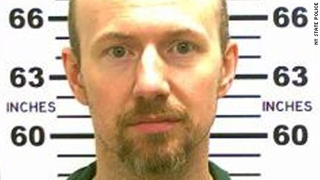 Inmate David Sweat in new prison under suicide watch