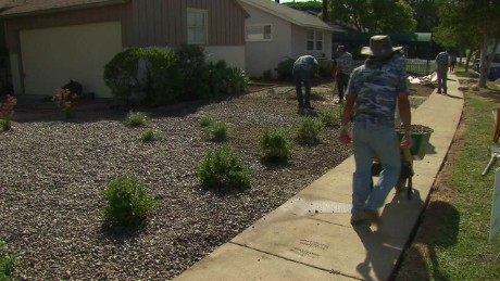Is lawn removal the new thing? California residents finding new ways to combat drought.