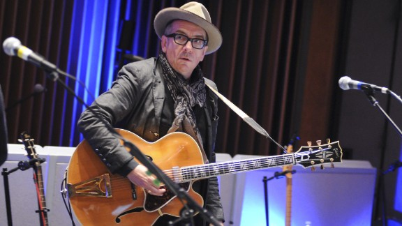 In the decades after Live Aid, Elvis Costello joined the ranks of the Rock and Roll Hall of Fame, and in 2003, married jazz singer Diana Krall.