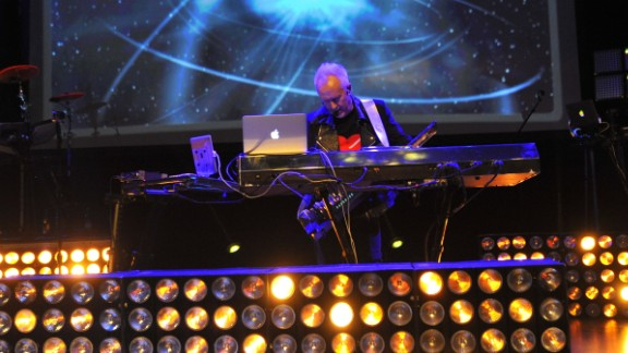 Howard Jones still tours and includes interactive multimedia elements in his performances. When he's not touring, Jones lives in Somerset, England. Here he performs in London in 2013.