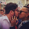 same-sex couple kissing irpt