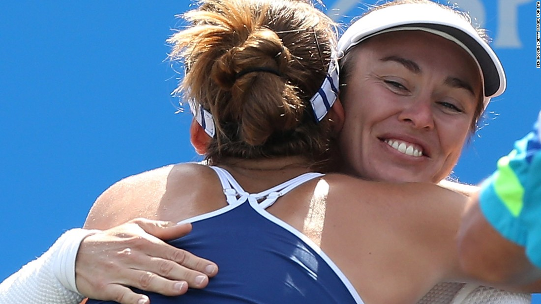 Aged 18 years and 109 days, Bencic triumphed in three sets to become the youngest winner on the women's circuit since Caroline Wozniacki in 2008.