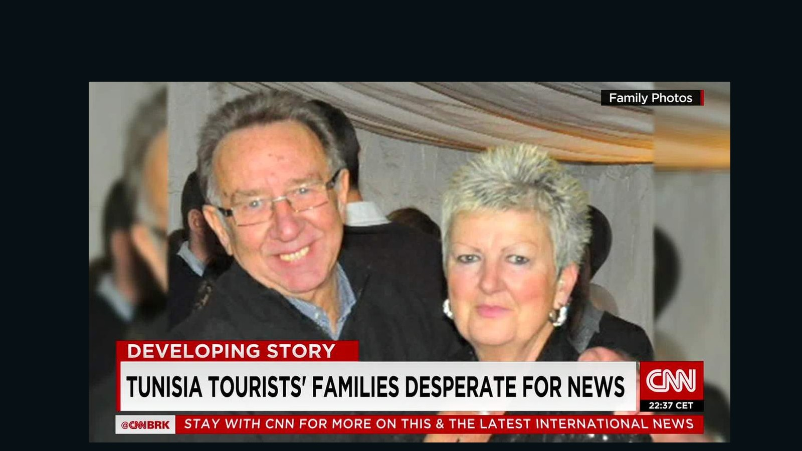 Tunisia tourists' family desperate for news - CNN Video - photo#43