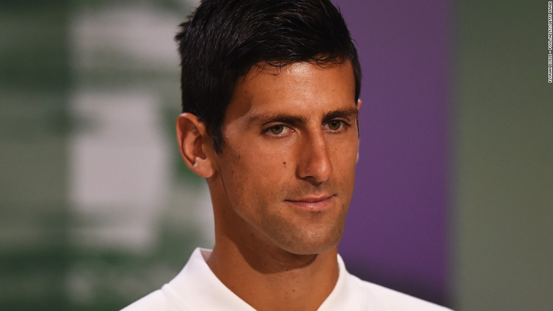Novak Djokovic is the defending Wimbledon champion.