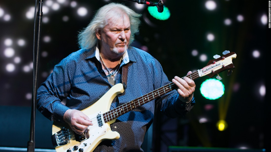 "Bassist <a href=""http://www.cnn.com/2015/06/28/entertainment/chris-squire-yes-dies-feat/index.html"" target=""_blank"">Chris Squire</a>, founding member of British rock band Yes, died June 27 in Phoenix, his bandmates confirmed. Squire, 67, announced in May that he was sitting out the band's upcoming tour dates to undergo treatment for leukemia."