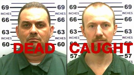 Richard Matt, left, was shot and killed by police. David Sweat was shot and captured.