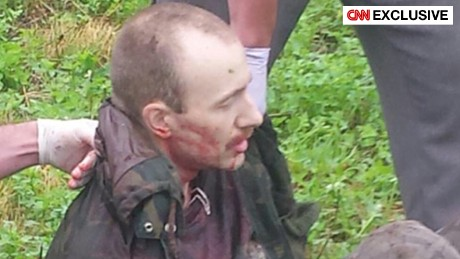 CNN exclusive photo shows David Sweat during his capture.