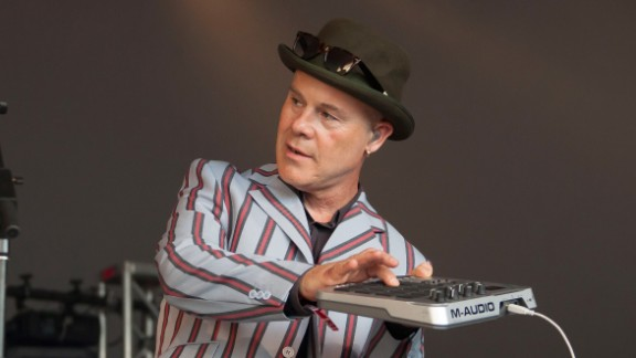 """The musician who put together Bowie's backup band at Live Aid was already famous for his 1982 hit """"She Blinded Me With Science."""" Today, Thomas Dolby is a professor at Baltimore's Johns Hopkins University, where he teaches classical musicians, composers and filmmakers."""