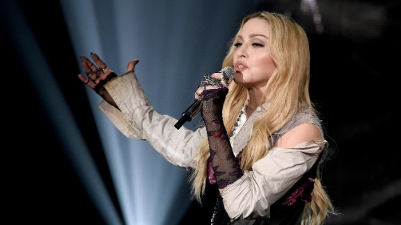Madonna was still relatively new to fame at Live Aid. She quipped onstage about nude photos of herself that had surfaced in Playboy. Now in her late 50s, the singer still commands attention.