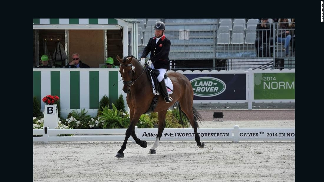In 2014, Pearson and horse Zion bounced back to claim all three available titles at the World Equestrian Games in France.