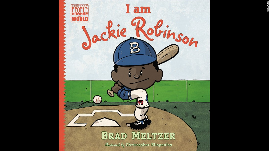 """Part of Brad Meltzer's popular 'Ordinary People Change the World' series, early readers will learn the inspiring story of Jackie Robinson, the first black player in Major League Baseball, who overcame countless obstacles to realize his dream and create lasting change in the world around him,"" Wilson said. Nonfiction, ages 5-8."