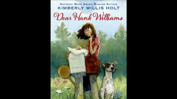 """"""" 'Dear Hank Williams' takes readers back to a time in the South when families listened to the radio together and anti-Japanese sentiment existed side-by-side with segregation,"""" Wilson said. """"It was also a time when people wrote letters, and Tate P. Ellerbee comes to terms with tragedy by writing to her pen pal, an up-and-coming country singer named Hank Williams."""" Fiction, ages 9-12."""