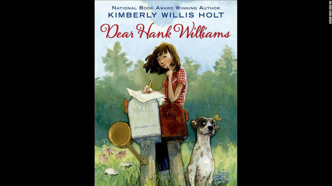 """ 'Dear Hank Williams' takes readers back to a time in the South when families listened to the radio together and anti-Japanese sentiment existed side-by-side with segregation,"" Wilson said. ""It was also a time when people wrote letters, and Tate P. Ellerbee comes to terms with tragedy by writing to her pen pal, an up-and-coming country singer named Hank Williams."" Fiction, ages 9-12."