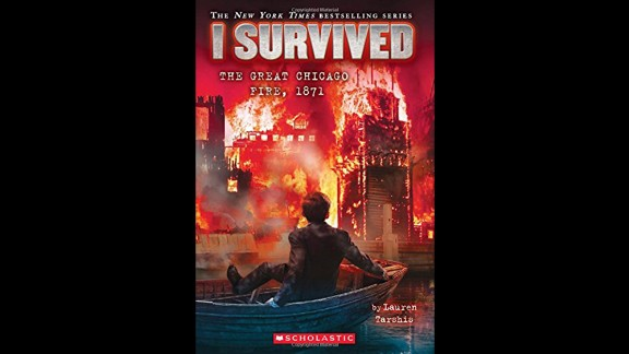 """""""The 'I Survived' series gives kids a real and gripping, 'you are there' feeling as tragic events in history, such as the subject of this 11th book, 'I Survived The Great Chicago Fire, 1871,' are recounted by a fictional boy who lived to tell the tale,"""" Wilson said. """"Other books in the series include events as varied as the destruction of Pompeii to the attacks of September 11."""" Fiction, ages 7-10."""