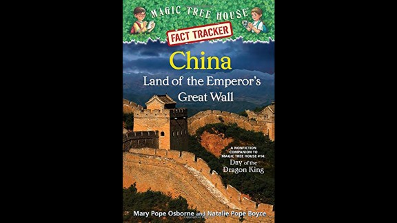 """""""A companion to the fictional 'Magic Tree House' series, 'Magic Tree House Fact Trackers' give kids the story behind the story, sharing information about the real-life places and events that are part of the chapter books,"""" Wilson said. """"In this nonfiction companion to 'Magic Tree House No. 14,' Chinese history and culture is revealed through up-to-date informational text, photographs and illustrations."""" Nonfiction, ages 6-8."""