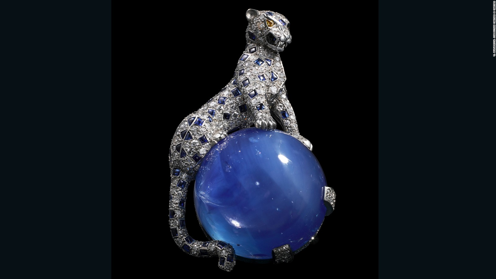 b4474d126c The opulent allure of Cartier s bejeweled panther - CNN Style