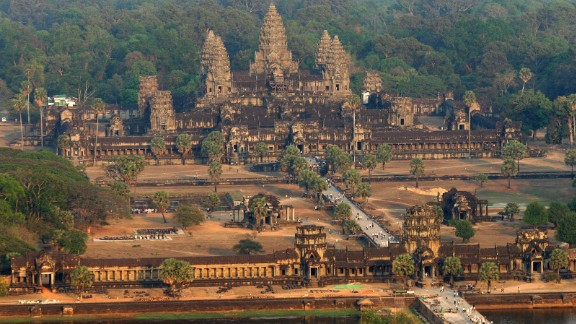 Cambodia's Angkor Wat was visited by more than two million people in 2013. One of the biggest issues facing the Angkor Archaeological Park is that a few major sites -- namely Angkor Wat, Angkor Thom and the Bayon -- endure the bulk of tourist traffic.