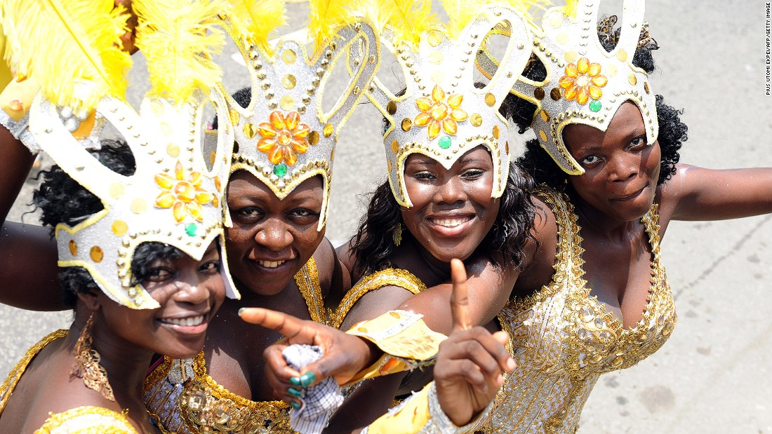 "Lagos Carnival. Mastercard's Index predicts a 5.9% fall in visitors to Lagos this year, yet the city is still tipped to draw in 885,000 people. <br /><br /><a href=""/2015/08/10/africa/eko-atlantic-gbenga-oduntan-conversation/index.html"" target=""_blank""><strong>Read this: Step into Lagos's answer to Dubai</strong></a>"