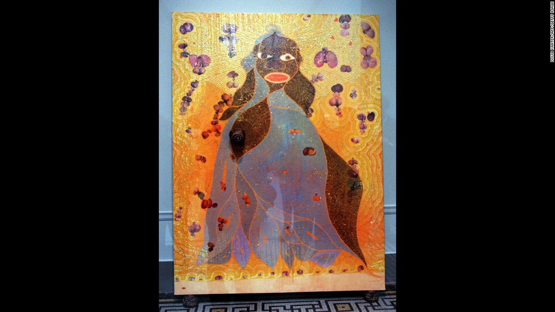 "June 2015 has been a big month for art auctioneers. Artist Chris Ofili's controversial work ""The Holy Virgin Mary,""  which shows an African Virgin Mary covered with elephant dung, sold for $4,522,643 at Christie's -- a record for the artist, according to the auction house."