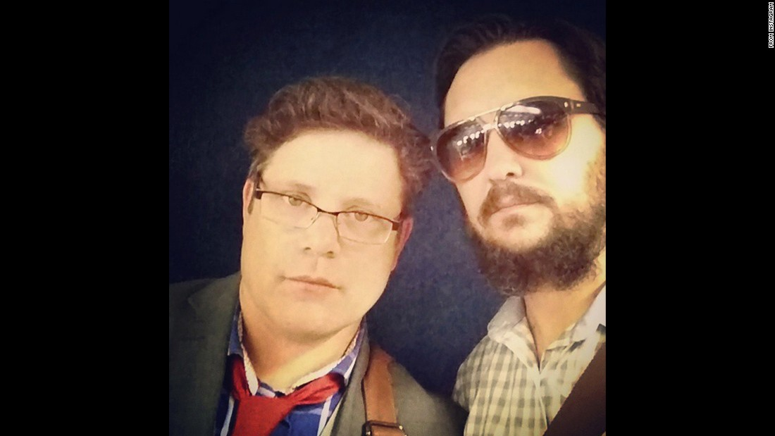 "Wil Wheaton, right, takes a selfie with fellow actor Sean Astin on Thursday, June 25. ""A by the book Lieutenant and an undercover detective who plays by his own rules,"" <a href=""https://instagram.com/p/4XWGS3OqXU/"" target=""_blank"">Wheaton said on Instagram.</a>"