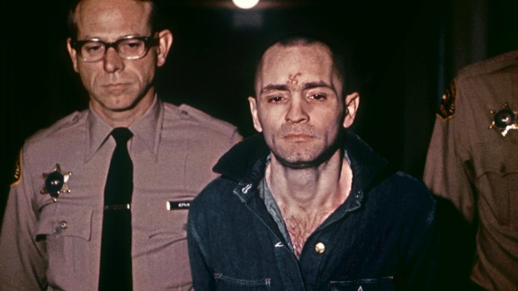 """A beardless Charles Manson, sporting a shaved head in 1971. """"The very name"""