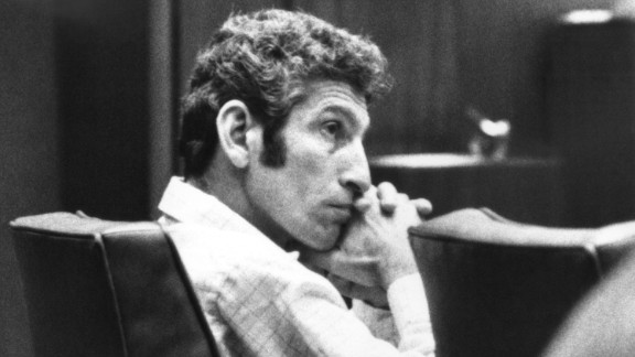 """Between 1977 and 1978, the naked bodies of nine women were found on the sides of various roads in the hills of California. The police attributed the murders to """"the Hillside Strangler,"""" who turned out to be a pair of killers --  Angelo Buono, pictured, and his cousin Kenneth Bianchi. On CNN"""