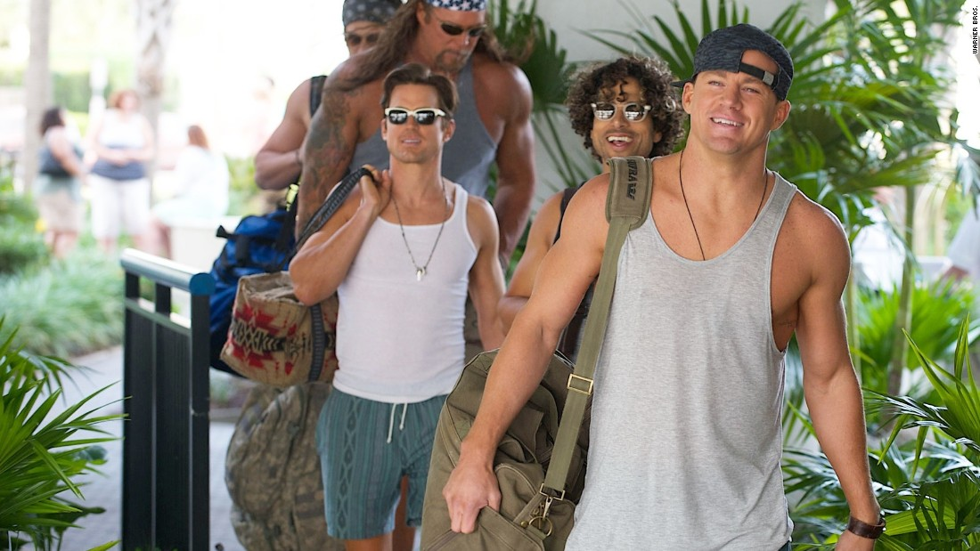 """Magic Mike XXL"" lacks Steven Soderbergh's presence behind the camera, but the sequel to ""Magic Mike"" does have Channing Tatum, front, reprising his role as male stripper ""Magic Mike"" Lane. (Tatum also co-wrote.) The plot can be reduced to two words: Road trip! It opened July 1."