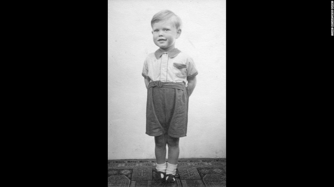 "Long before his days as a stadium-packing musician, Mick Jagger is seen at his home in Dartford, England, in 1946. He was 3 years old. Images like this, along with hundreds of other Rolling Stones artifacts, will be on display as part of ""Exhibitionism,"" a gallery that opens at London's Saatchi Gallery in April 2016."