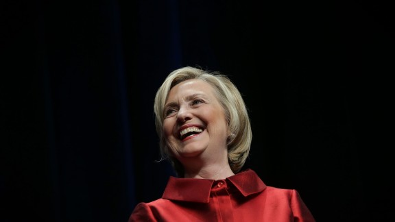 Democratic U.S. presidential hopeful and former U.S. Secretary of the State Hillary Clinton speaks during the Democratic Party of Virginia Jefferson-Jackson dinner June 26, 2015 at George Mason University