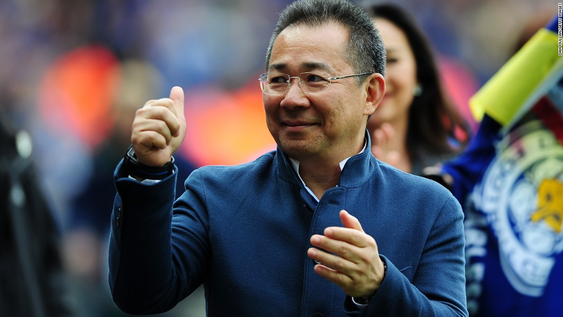 Leicester City Owner, Vichai Srivaddhanaprabha turned around the team's fortunes when he took over in 2010.