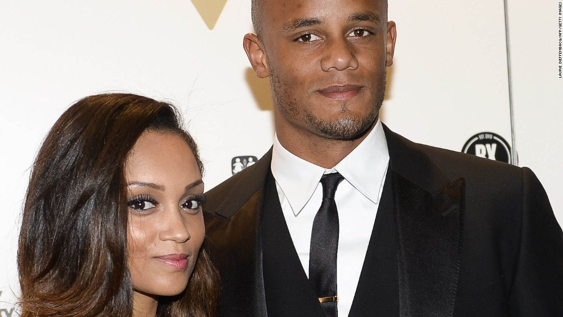Kompany, moved to Manchester City in 2008 from Hamburg, married Carla in 2011.