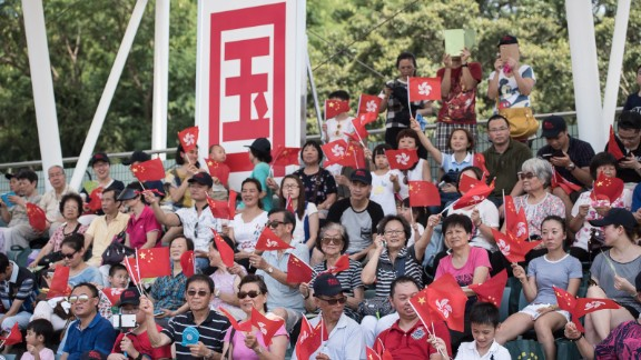 Hong Kong's special status as a Chinese territory with a semi-autonomous government has been a constant source of tension in the city. Surveys show fewer residents, especially young people, identify as Chinese.