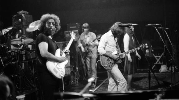 The Grateful Dead at Winterland, a San Francisco venue, in 1977.