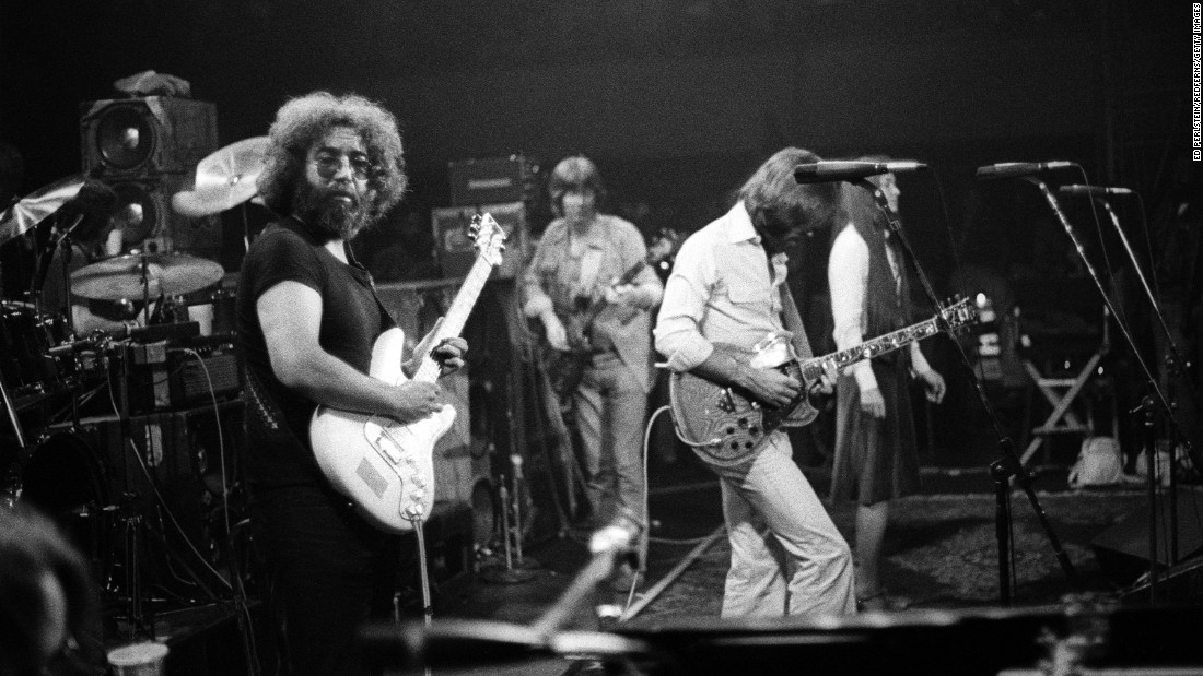 The Grateful Dead at Winterland, a San Francisco venue, in 1977.