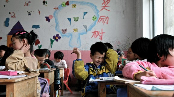 Pressure in China's education system starts young. Although parents, teachers and lawmakers have questioned the wisdom of putting so much pressure on young children, there's little sign their study load has been reduced.