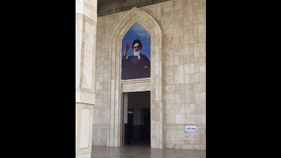 Ayatollah Ruhollah Khomeini led Iran for a decade after the Islamic Revolution of 1979. Today, Iran has a shrine to honor him in Tehran.