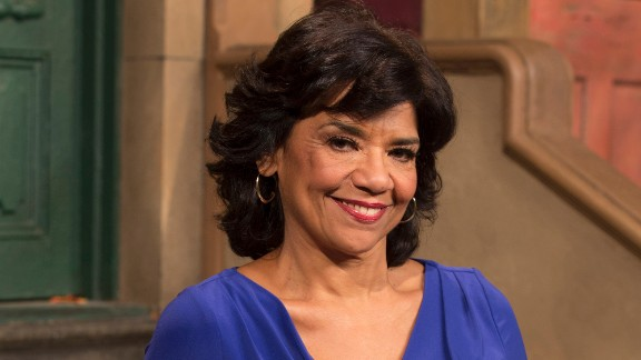 Sonia Manzano played shop owner Maria for nearly 45 years before retiring in July. She also worked as a writer for the show.