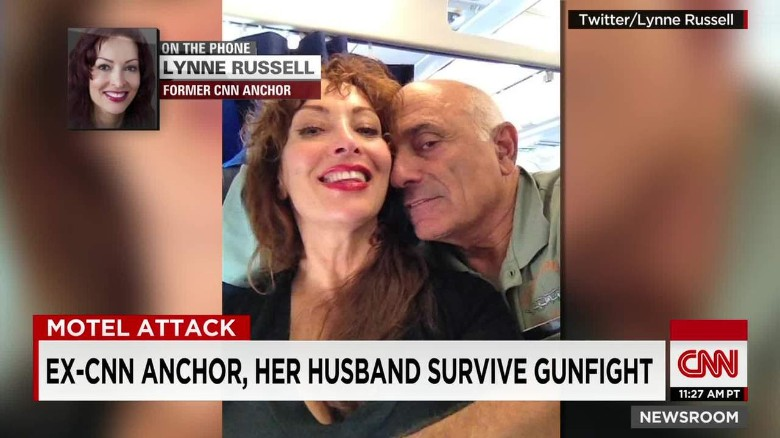 ex cnn anchor lynne russell gunfight bts nr _00011617
