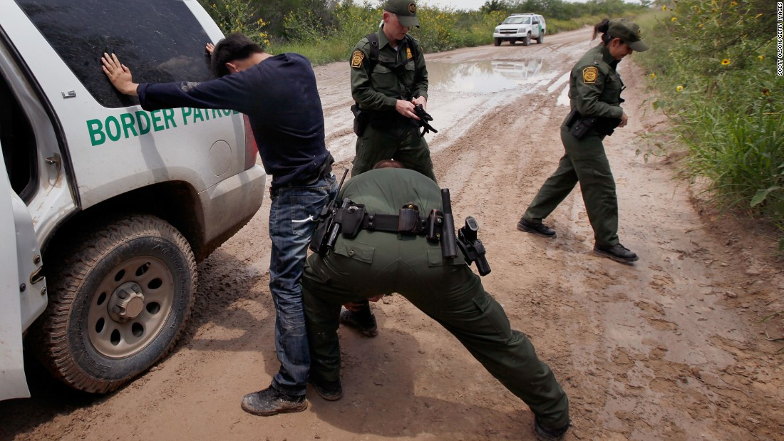 Customs and Border Protection is in charge of controlling borders to the United States, along with stopping the flow of terrorist and weapons into the country. On average each day, CBP arrests more than 1,100 people and seizes close to 6 tons of illegal drugs, according to its website.